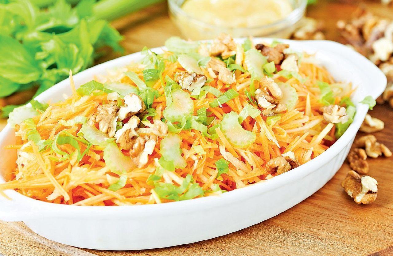 Как сделать салат витаминный с капусты